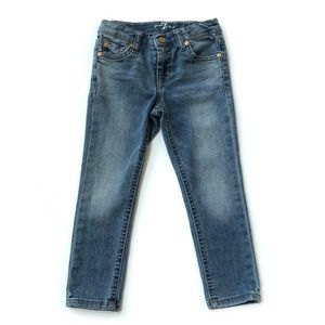 7 For All Mankind girls skinny jeans • size 5